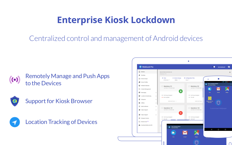 MobiLock Kiosk Lockdown - Pro- screenshot