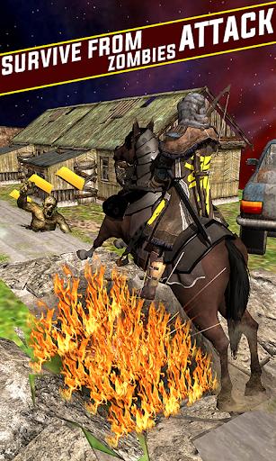Street Horse Archer run - Dungeon Archer Escape  captures d'écran 2