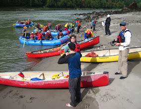 Photo: Our first stop on the BC Rivers Day paddle down the Fraser River from Yale to Hope BC was at Hills Bar