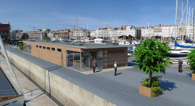 Photo: Otra vista de la Marina Real, la marina del RCN de La Coruña