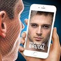 Scanner appearance face Beauty Analysis joke game icon
