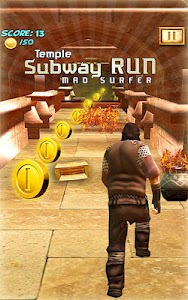 Temple Subway Run Mad Surfer screenshot 11