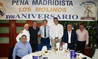La Peña Madridista de Los Molinos cumple 18 años