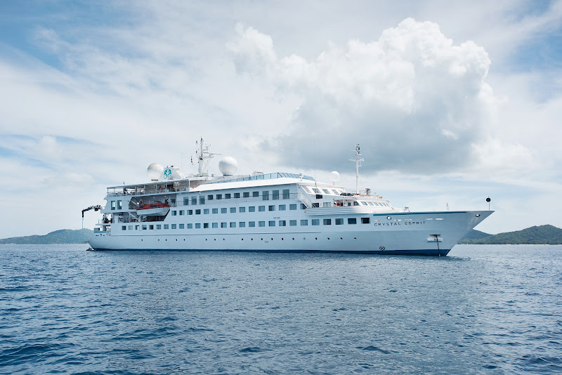 The 62-passenger Crystal Esprit brings Crystal Cruises into the yachting and river cruising worlds.