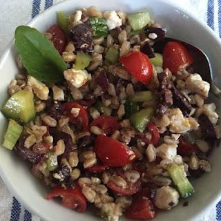 Italian Farro Salad Recipe