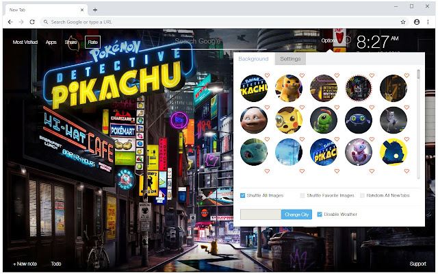Pokemon Detective Pikachu Wallpaper HD NewTab