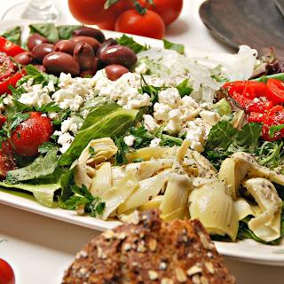 Greek Salad With Artichokes Recipes