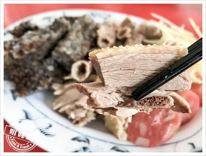 阿吉鴨肉麵黑白切鹹水鴨肉