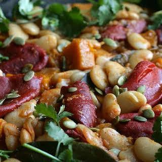 Chilean Lima Bean And Pumpkin Stew.