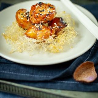 Lychee Sesame Toffees ( Vegan Desserts) Recipe