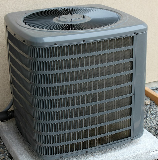 Gray air conditioner