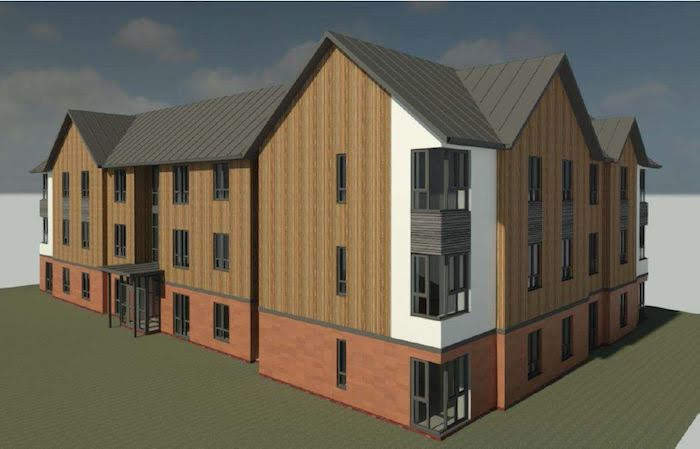 Town centre flats to be built with Welsh timber