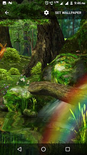 3D Nature Live Wallpaper 1.2 screenshots 1