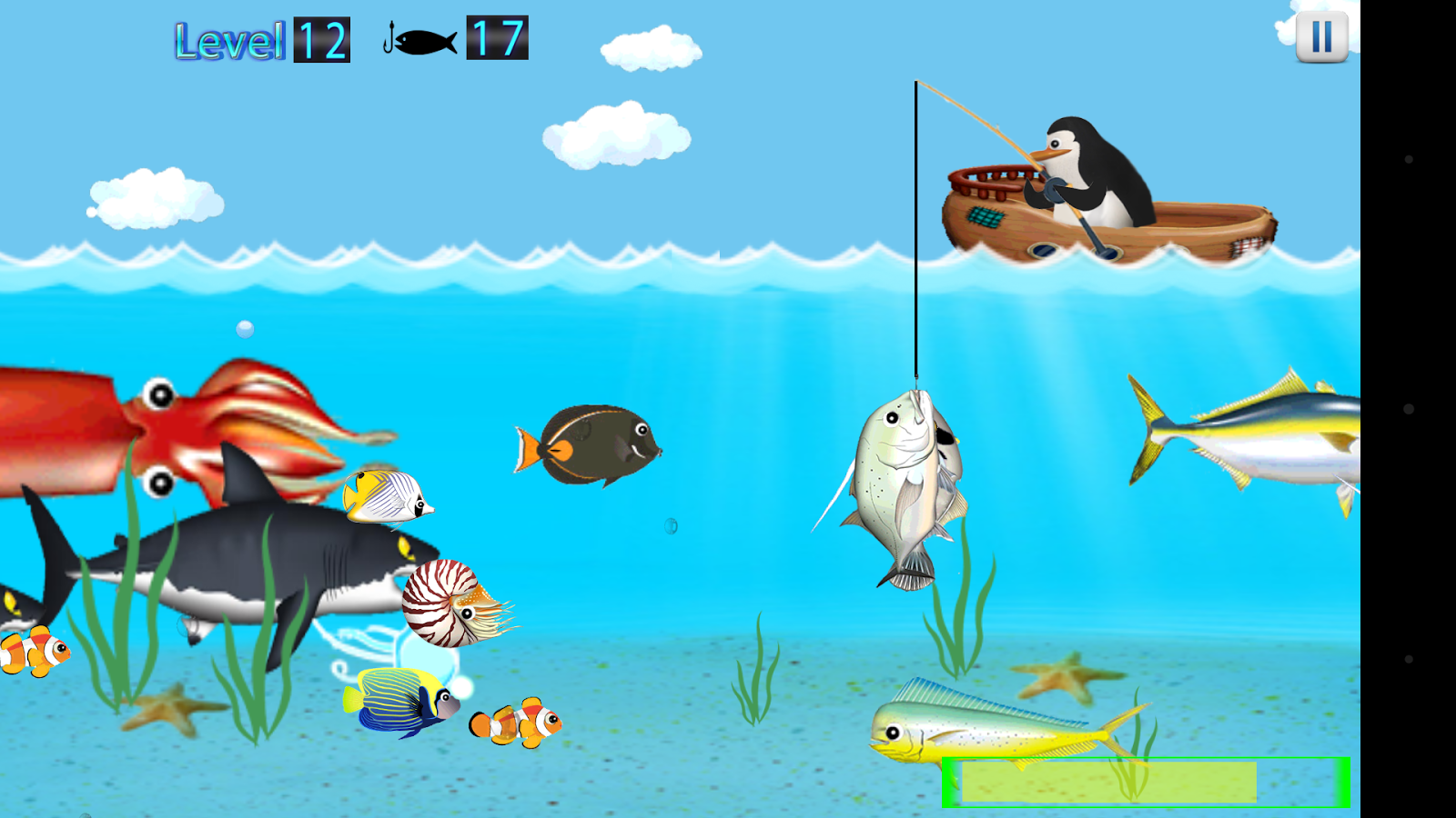 Penguin fishing android apps on google play for Penguin and fish