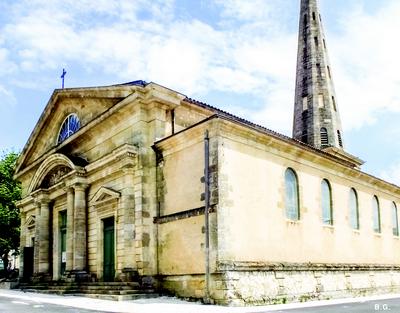 photo de église saint Martin de Blanquefort