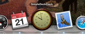 Simple Dock Clock