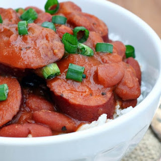 Big Easy Slow Cooker Red Beans and Rice.
