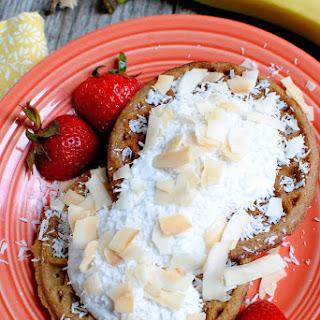 Triple Coconut Waffles with Vanilla Maple Coconut Cream