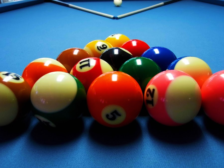 Colorful  Pool Balls. by Mam Aemrut - Artistic Objects Other Objects