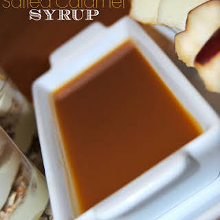 Salted Caramel Syrup.