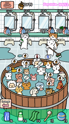 Animal Hot Springs - Relaxing with cute animals - screenshot