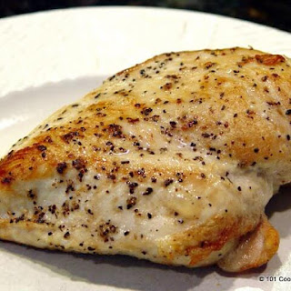 Pan Seared Oven Roasted Skinless Boneless Chicken Breast Recipe