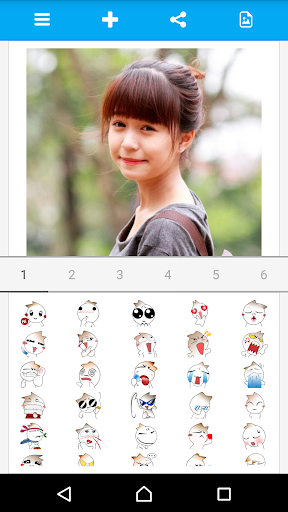 Photo Emoticons Photo Editor