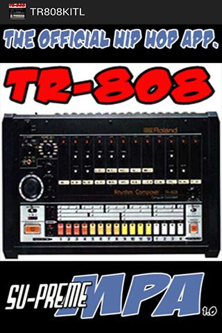 Скриншот TR-808 DRUMKIT FOR MPA Lite