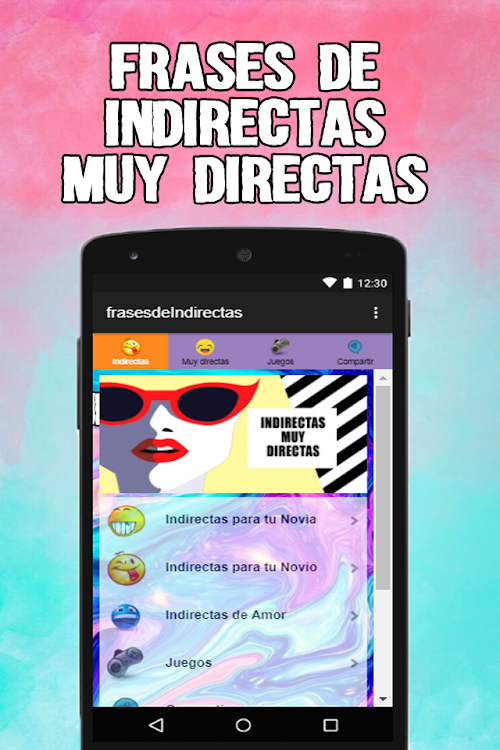 Frases De Indirectas Muy Directas De Amor Android