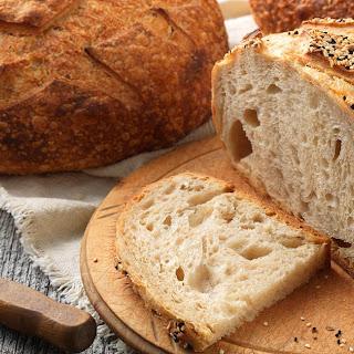 Artisan Sourdough Bread made with a stiff starter