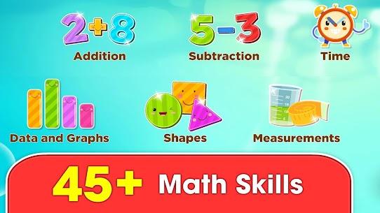Monkey Math: math games & practice for kids 2