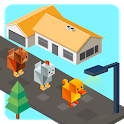 Road Animal Cross Escape icon
