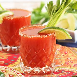 Bloody Margarita #BrunchWeek.