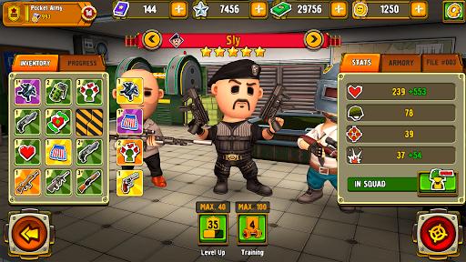 Pocket Troops: Strategy RPG screenshot 8