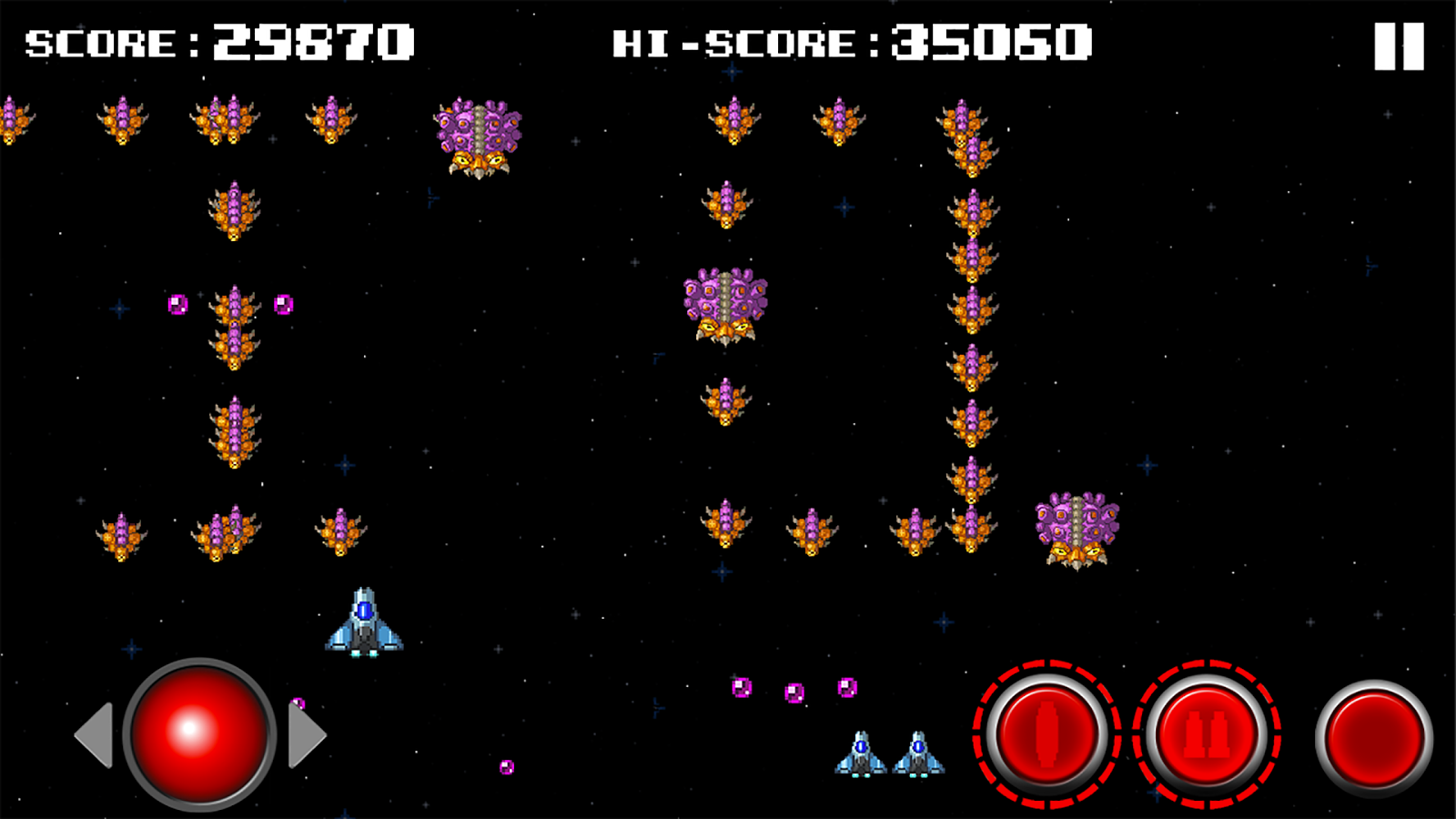 SpaceShips Games: The Invaders- screenshot