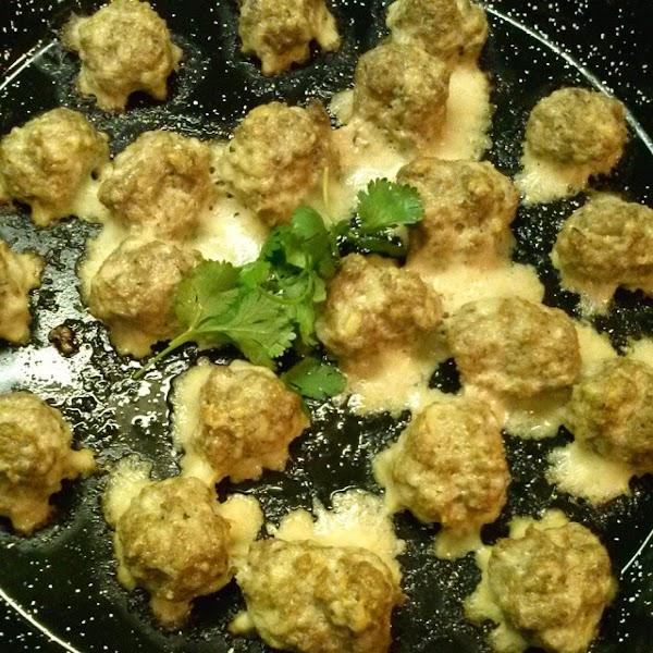 Parmesan Turkey Balls Recipe