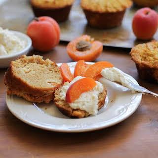 Grain-Free Apricot Ricotta Muffins.