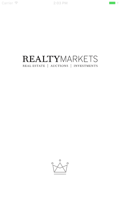 RealtyMarkets- screenshot