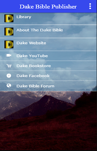 Dake Bible Publisher- screenshot