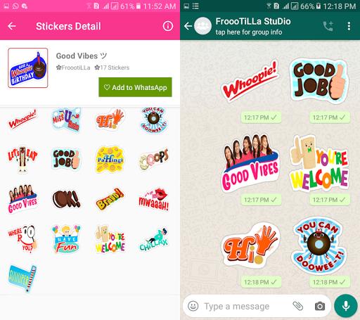 WAStickerApps - ud83dude4fGracias capturas de pantalla del paquete Stickers 3