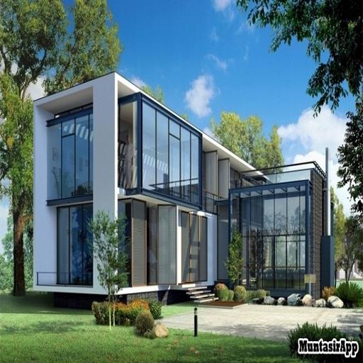 Glass House Design Ideas Screenshot
