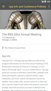 The RSA 63rd Annual Meeting- screenshot thumbnail