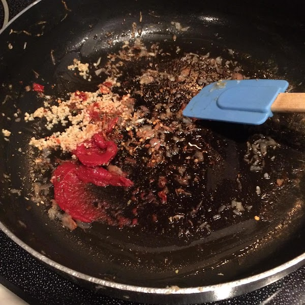 Add remaining 1 Tbsp oil to now empty skillet and cook shallot until softened,...