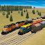 Train and rail yard simulator icon