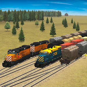 Train and rail yard simulator 1.1.2 by 3dinteger logo