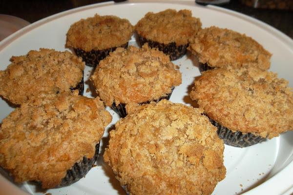 Banana Dark Chocolate Chip  Crumb Muffins Recipe