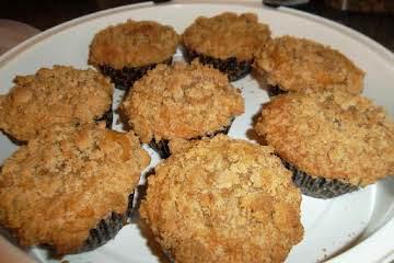 Banana Dark Chocolate Chip  Crumb Muffins