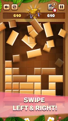 Woody Drop Puzzle - Free Block Mind Games filehippodl screenshot 5