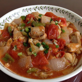 Slow Cooker Tomato-Chicken Stew