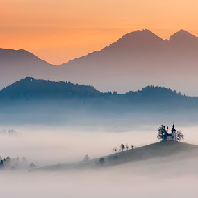Morning lines by Blaž Ocvirk - Landscapes Sunsets & Sunrises ( slovenia, st.tomas )